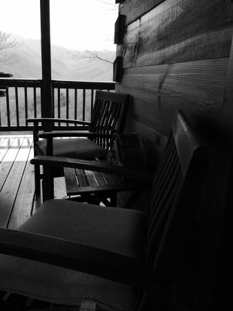 Appalachian Inn: interior & exterior views in & around the inn. I stayed in the schoolhouse room- amazing views!