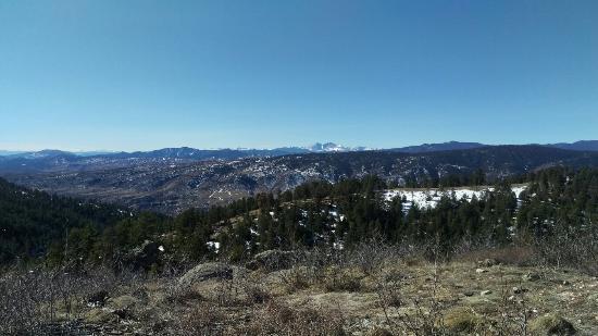 Bellvue, CO: Longs Peak view from Howard Trail