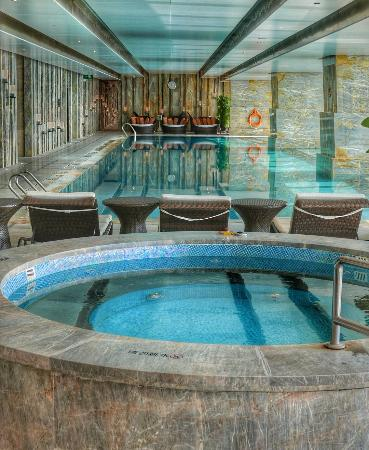In Door Swimming Pool Picture Of The St Regis Shenzhen