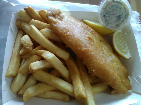 Chipper Fish: Perch and Chips