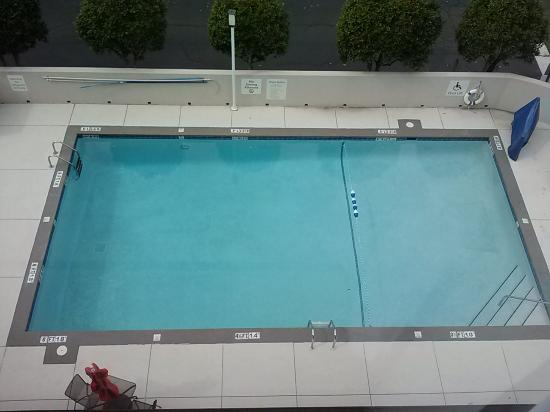 Holiday Inn Express Tallahassee East: pool view from room