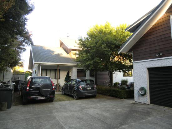 Annick House: 駐車スペース