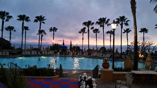 Main Pool At Sunset Marriott S Newport Coast Villas
