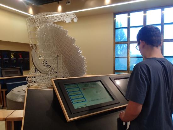 Green Bank, Virginia Occidental: One of the hands on experiences in the science center