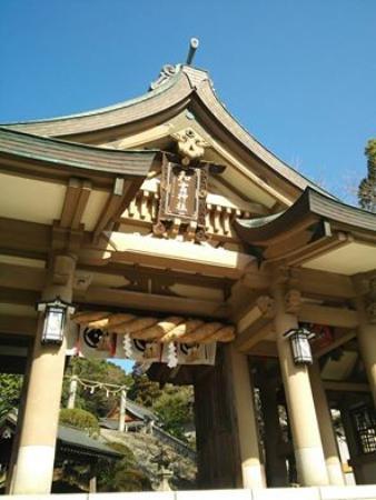 Warei Shrine : 和霊神社入り口