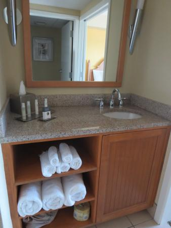 sink and vanity outside bathroom picture of doubletree suites by rh tripadvisor com