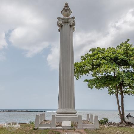 Columna Conmemorativa Naufragio Balandra Aurora