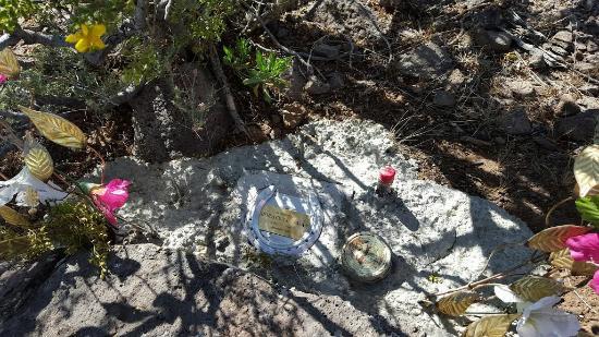 Wickenburg, AZ: Memorial on top of Mountain