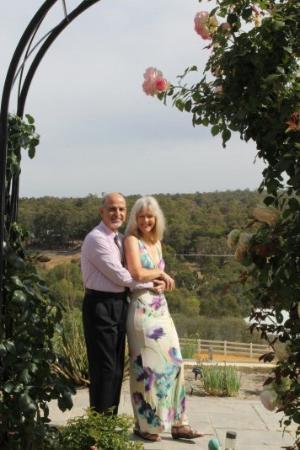Brigadoon, Australië: Rose Garden with View off Balcony