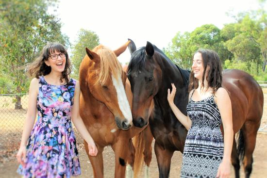 Brigadoon, Australië: Good time with the Horses