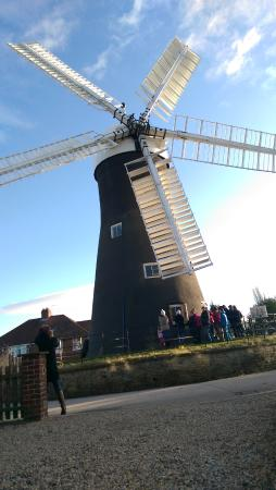 Holgate Windmill with North westerly wind
