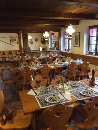 Chateau-d'Oex, Szwajcaria: Le Chalet Restaurant
