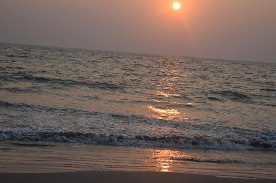 Vypin Island, India: sunsetting