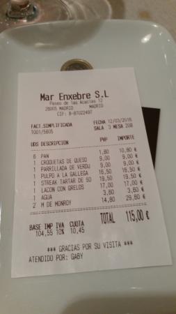 Cuenta picture of restaurante atrapallada madrid - Restaurante atrapallada madrid ...