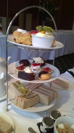 Grovefield House Hotel Afternoon Tea