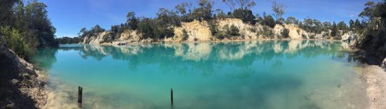 แทสมาเนีย, ออสเตรเลีย: Little blue lake, Tasmania