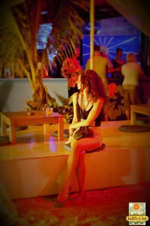 Pogo Beach Bar & Grill: one night