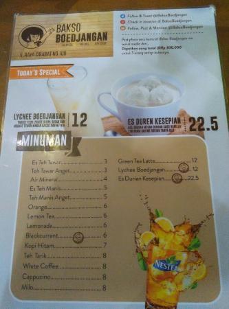 Bakso Boedjangan Cimahi Ulasan Restoran Tripadvisor