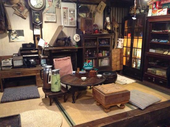 old living room display of Japanese house - Picture of Takayama ...