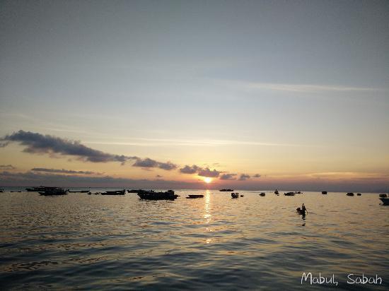 Arung Hayat Sea Adventures: view from the public area of Arung Hayat.
