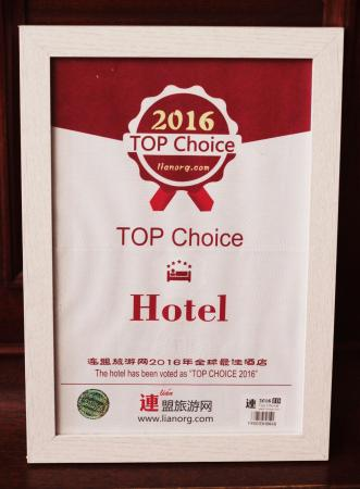 Hotel Crystal : RECOMPENSE HOTEL CHOICE ASIE