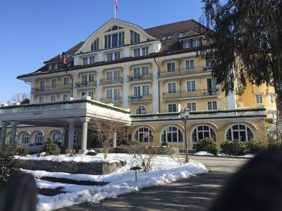 Le Grand Bellevue: Fabulous hotel, and there's more to Gstaad than just skiing.