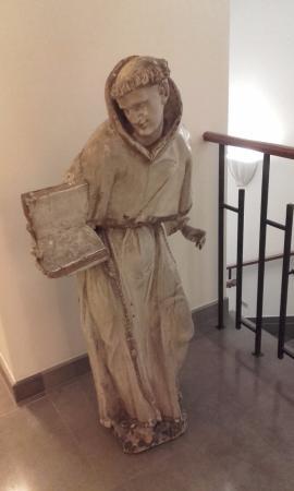 Augustine Spa: Decor at hallways of the hotel