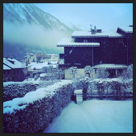 Chalet Cachat: View from bedroom window - wow!