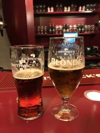 Kilkenny, Irlandia: beer tasting at the end