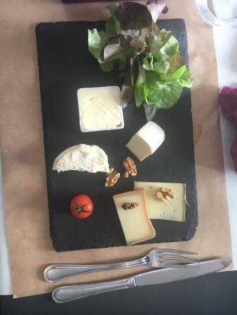 Viviers-du-Lac, ฝรั่งเศส: Pudding are munch.