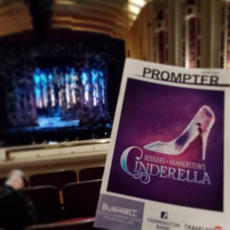 Bushnell Center for Performing Arts: Our view for Cinderella