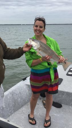 Rockport, TX: Limit of redfish what more can you ask for!