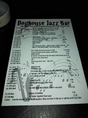 The Dog House Cellar Jazz Bar