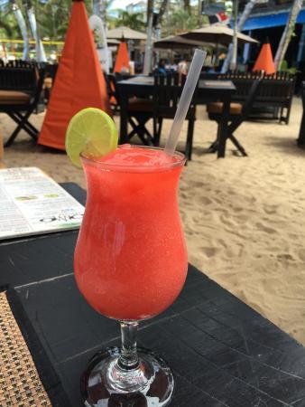 คาบาเรต, สาธารณรัฐโดมินิกัน: Strawberry daiquiri