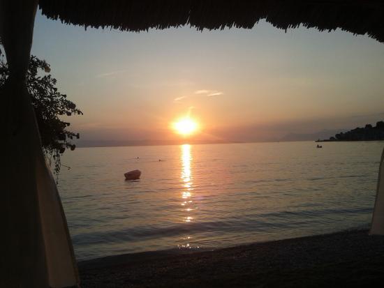 Blick aufs Meer Restaurant Primordia Podgora HR