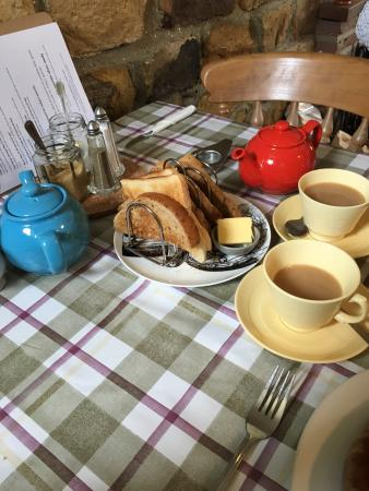 Graze on the Green : Cracking full English with proper leaf tea  Excellent quality fare