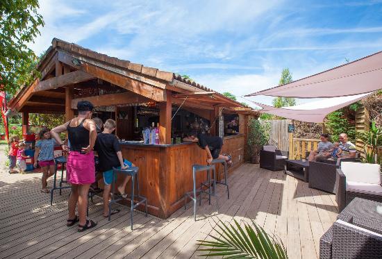 Camping La Clairiere: le bar