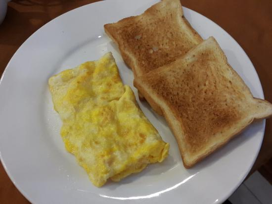 Sinnakhone Hotel: 아침조식은 이렇게^^