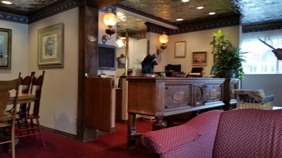 lobby and front desk fantastic antique furniture throughout the rh tripadvisor com