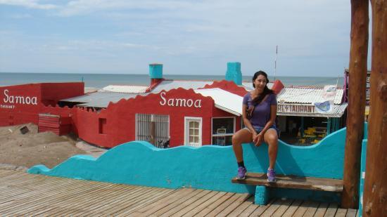 Balneario Samoa: restaurant de playa