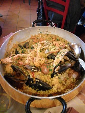 Paella - Foto di L\'acquacheta Ristorante, Bagno a Ripoli - TripAdvisor
