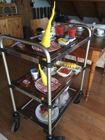 Zeit & Traum Hotel: Petit déjeuner