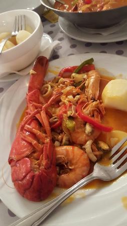 Welcome Restaurant: Voilà la cataplane palourdes et fruits de mer (sans palourdes) mdr.