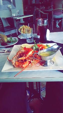 Beau Monde Bistro The Lampeter Hotel: Lobster (£35)