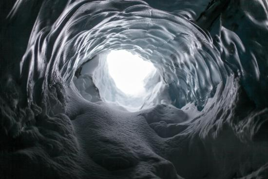 McCarthy, AK: inside the cave