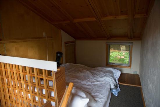 Windham, เวอร์มอนต์: Uriges Schlafstatt auf der Empore