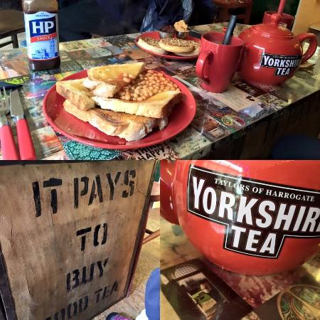 Tea,Toast and Post