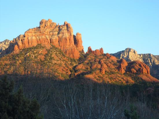 view from the porch picture of hideaway house sedona tripadvisor rh tripadvisor com