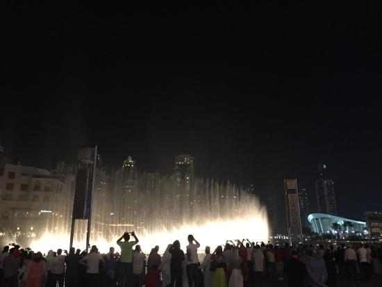 Good view of the dubai fountains