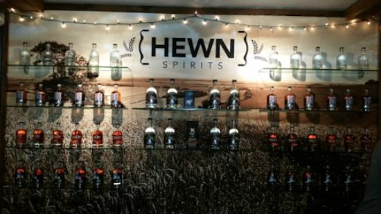 Pipersville, PA: Hewn behind bar